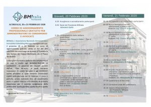 Aggiornamento Obbligatorio DM 140/2014 – ACIREALE 20/21 FEBBRAIO 2020