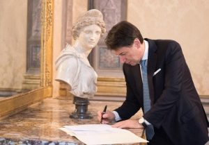 Coronavirus, firmato il Dpcm 1 marzo 2020